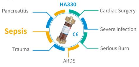 HA330 одноразовый гемоперфузионный картридж