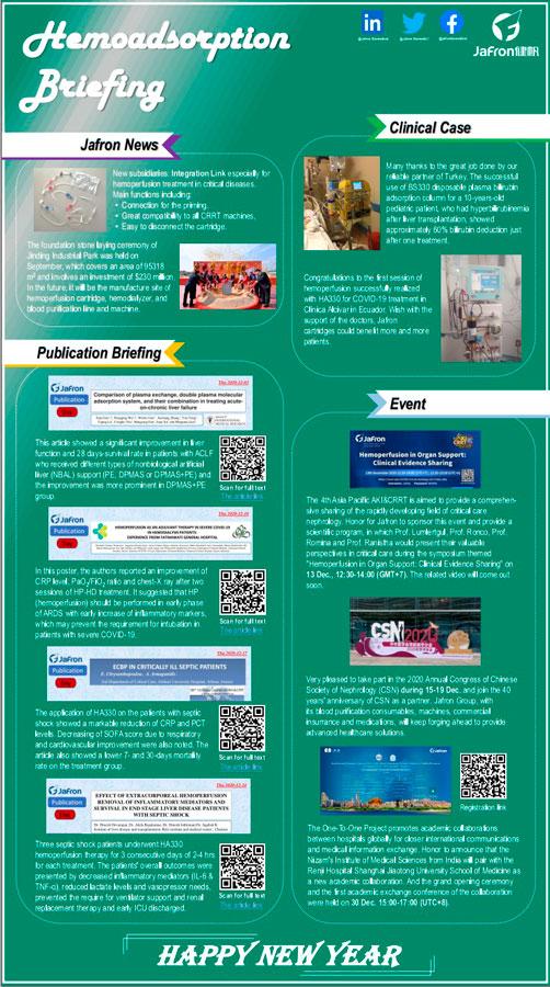 Ежемесячная новостная лента Jafron. Декабрь 2020