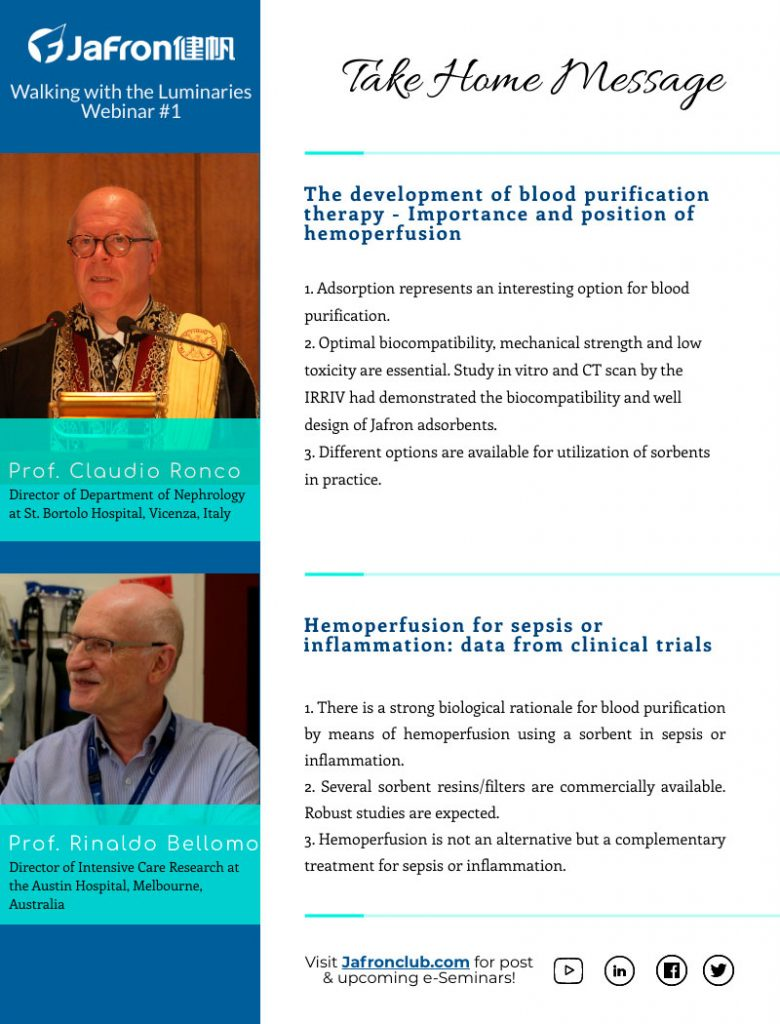 Анонс. E-seminar №1 «Development of extracorporeal blood purification therapies: focus on adsorption»